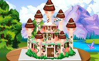 Princess castle cake 3