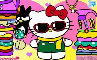 Hello Kitty Aankleden