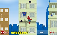 Spiderman Springen